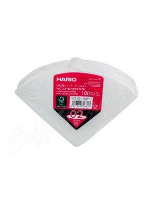 Hario Фильтры бумажные для воронок на 4 порции