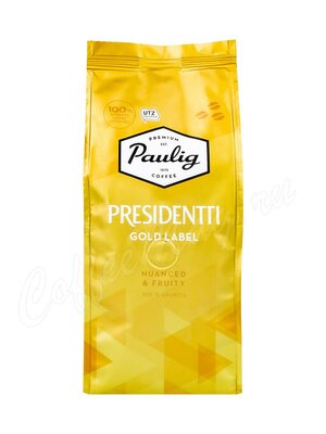 Кофе Paulig Presidentti Gold Label в зёрнах 250 г