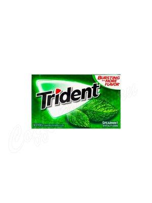 Жевательная резинка Trident Spearmint Мята