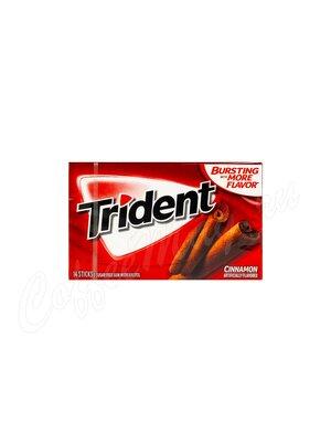 Жевательная резинка Trident Cinnamon Корица