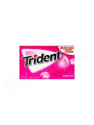 Жевательная резинка Trident Bubblegum Баблгам