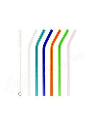 Walmer Coctail Color Набор из 6-ти Цветных Стеклянных трубочек