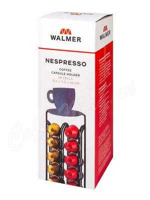 Walmer Подставка для кофейных капсул Nespresso, 28 ячеек
