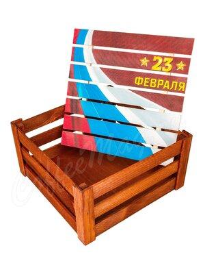Коробка подарочная С 23 февраля большая