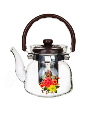 Чайник стеклянный Kelli KL-3005 0,6 л