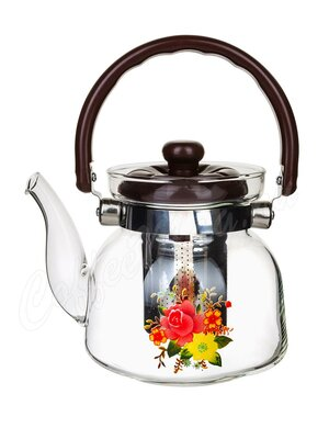Чайник стеклянный Kelli KL-3006 0.8 л