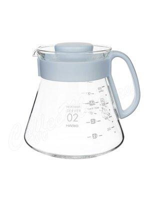 Hario Чайник стеклянный и воронка керамическая для приготовления кофе (XVDD-3012W)