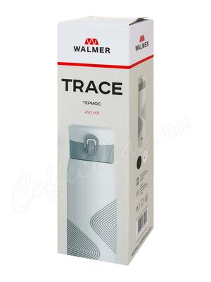 Термос-термокружка Walmer Trace белый 450 мл (W24208372)