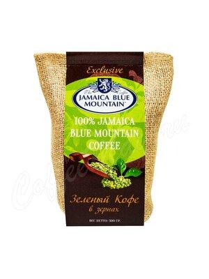 Кофе Jamaica Bue Mountain в зернах зеленый 300 г