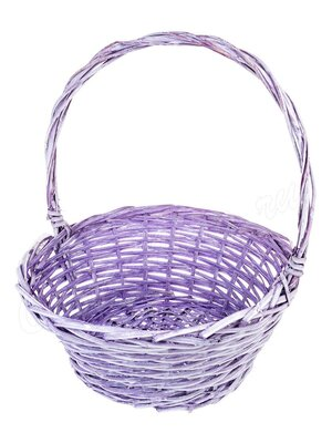Корзина плетеная большая фиолетовая Lilac 38х17х42  LYM-660003