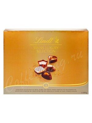 Шоколадные конфеты Lindt Swiss Luxury Пралине 195 г