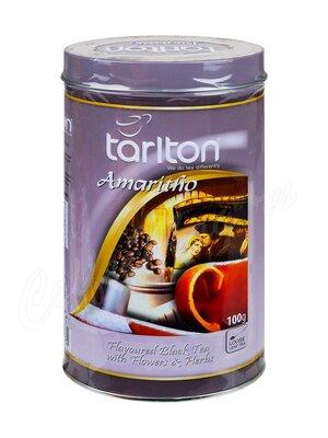 Чай Tarlton Амаретто Чёрный 100 г ж.б.