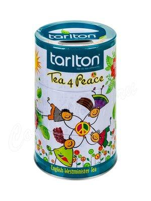 Чай Tarlton Дружба черный 100 г ж.б. (с копилкой)