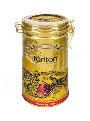 Чай Tarlton УВА черный 150 г ж.б.