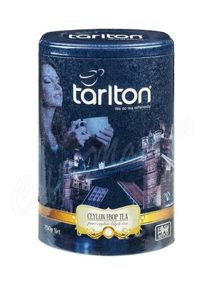 Чай Tarlton Виктория Чёрный (ФБОП) 250 г ж.б.