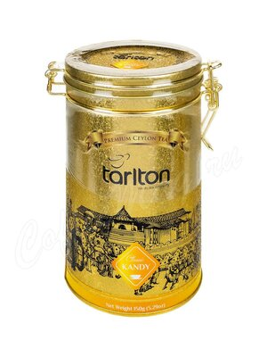 Чай Tarlton Канди Чёрный 150 г ж.б.