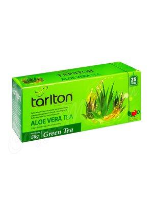 Чай Tarlton Алое вера Зелёный 25 пак
