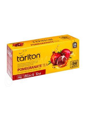 Чай Tarlton Гранат Чёрный 25 пак
