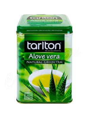 Чай Tarlton Алое вера зеленый чай 250 г ж.б.
