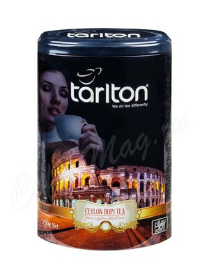 Чай Tarlton Колизей Черный (БОП1) 250 г ж.б.