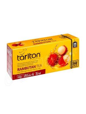 Чай Tarlton Рамбутан черный 25 пак