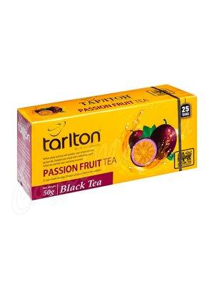Чай Tarlton Плод страсти Чёрный 25 пак