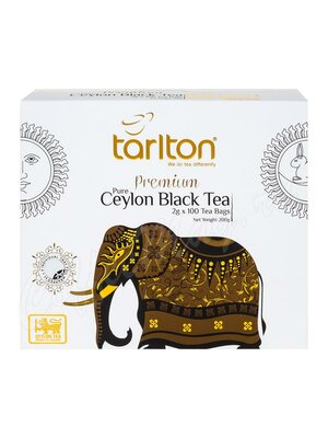 Чай Tarlton Ceylon Black Tea черный 100 пак
