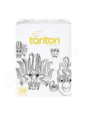 Чай Tarlton черный OPA картонная упаковка 250 г