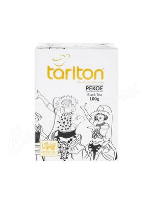 Чай Tarlton черный PEKOE 100 г
