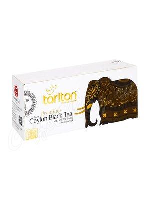 Чай Tarlton Ceylon Black Tea черный 25 пак