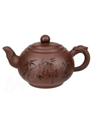 Чайник глиняный Бронзовая колесница 350 мл (005871) hot