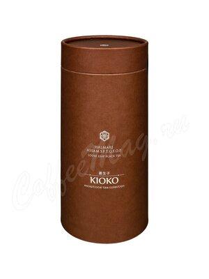 Чай Kioko Halmari Assam SFTGFOP черный 100 г в тубе (коричневая)