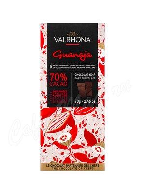 Шоколад Valrhona Гуанара горький (70%) 70 г  плитка