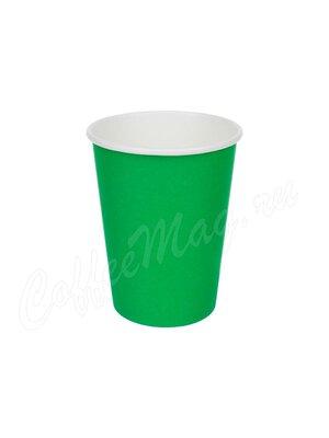 Стакан бумажный D.R.V. зеленый 250 мл D80 (50 шт)