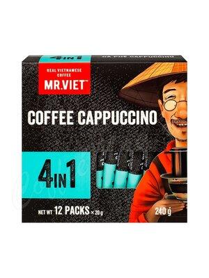 Растворимый кофе Mr Viet Капучино в стиках 4 в1 (240 г) SA-316