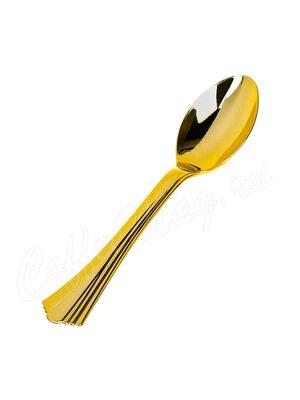Complement Ложка пластиковая 16 см Золотая (Shine) 1уп-6шт