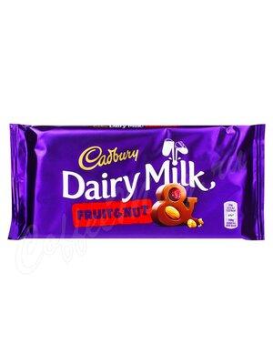 Шоколад Cadbury Fruit&Nut плитка 200 г