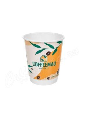 Стакан бумажный Манинг Двухслойный Coffeemag 250 мл (25 шт)