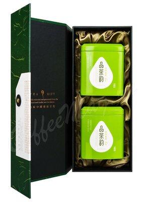 Подарочный набор коробка + 2 металлические банки в подарочном пакете (box-009)