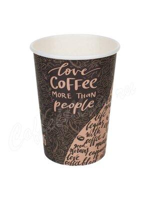 Стакан бумажный D.R.V. Coffee 400 мл D90 (50 шт)