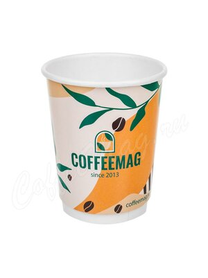 Стакан бумажный Манинг Двухслойный Coffeemag 400 мл D90 (25 шт)