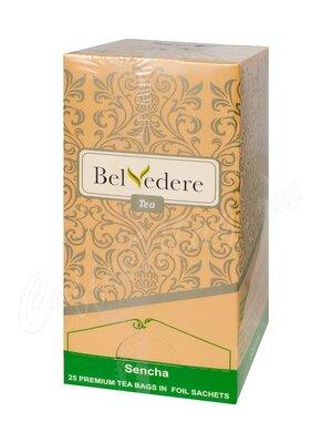Чай Belvedere Сенча зеленый в пакетиках 25 шт * 1,5 г