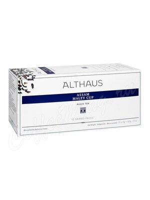 Чай Althaus Assam Malty Cup Ассам Малти Кап 20 пак для чайника