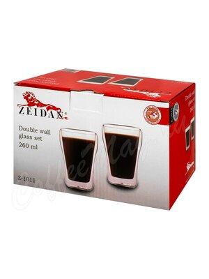 Zeidan Набор стаканов с двойными стенками - 260 мл в подарочной упаковке (Z-1011)