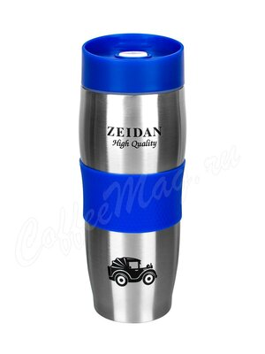 Zeidan Термокружка с крышкой, 420 мл с двойными стенками синий (Z-9044-01)