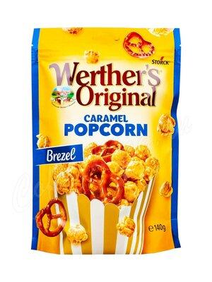 Хлопья Werthers Original Caramel Popcorn Brezel 140 г