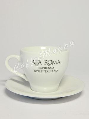 Чашка+Блюдце Alta Roma для капучино 150 мл