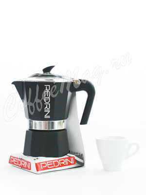 Гейзерная кофеварка Pedrini на 6 порций (240 мл)