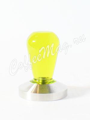 Темпер Motta ручка из резины желтая, 58 мм (694)