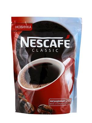 Кофе Nescafe Classic 250 гр